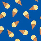 Ice Cream Cone Pattern