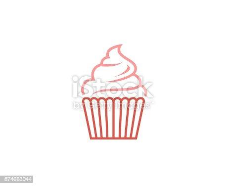 istock Ice cream icon 874663044