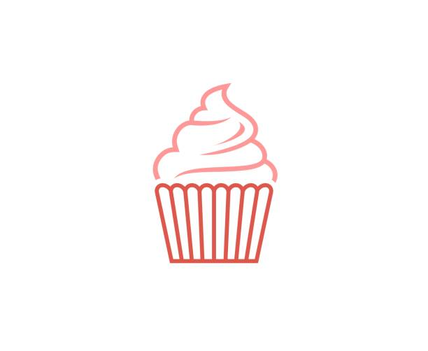 Ice cream icon This illustration/vector you can use for any purpose related to your business. cupcake stock illustrations