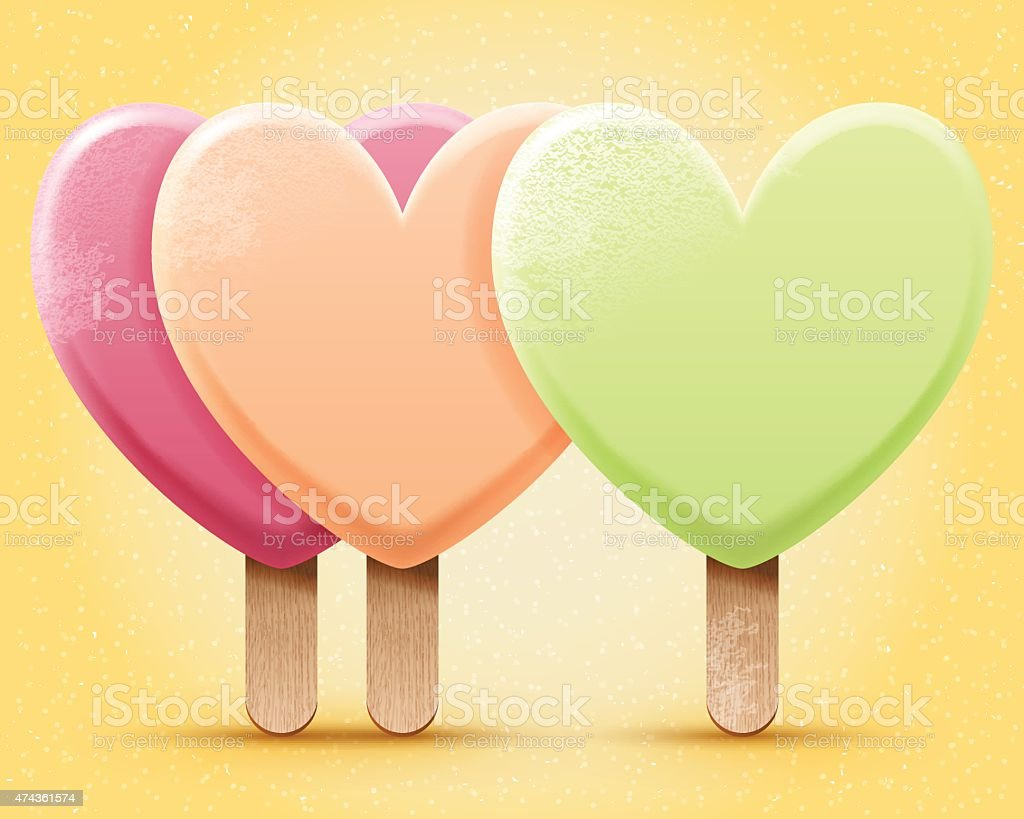 Ice cream illustration vector art illustration