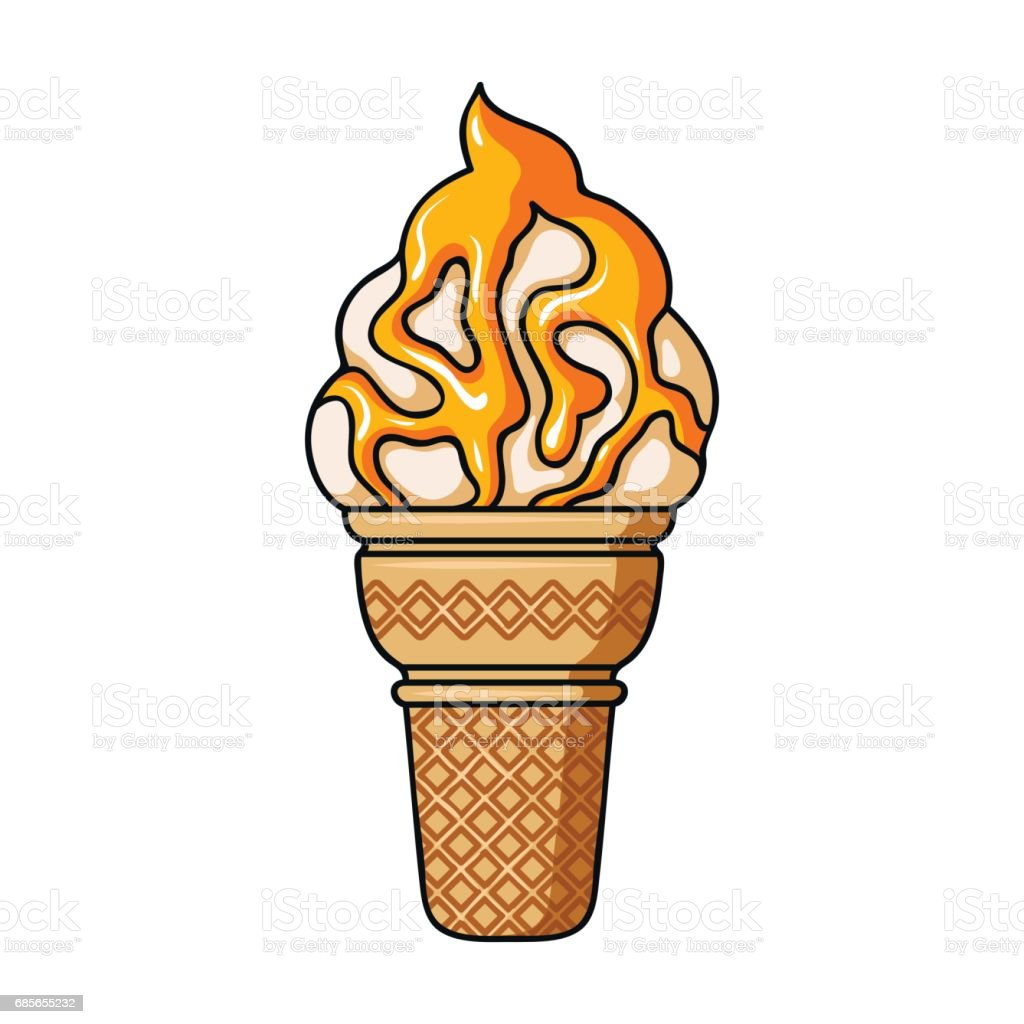 Ice cream in waffle cup icon in cartoon style isolated on white background. Ice cream symbol stock vector illustration. 免版稅 ice cream in waffle cup icon in cartoon style isolated on white background ice cream symbol stock vector illustration 向量插圖及更多 冰 圖片