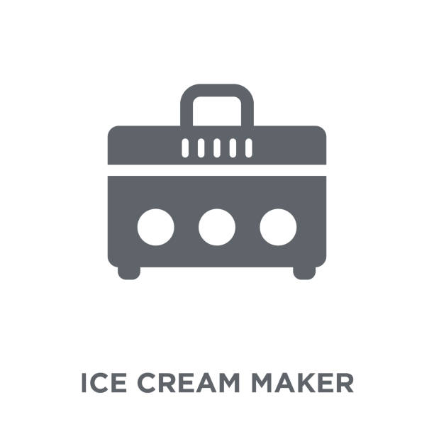 Royalty Free Ice Cream Machine Clip Art, Vector Images