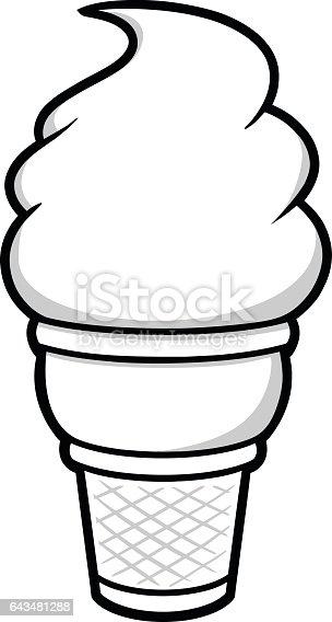 Ice Cream Symbol Illustration Stock Vector Art Amp More