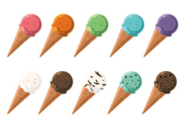 アイスクリーム ベクターアートイラスト
