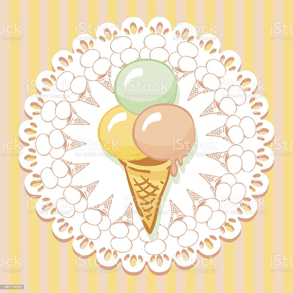 ice cream royalty-free stock vector art