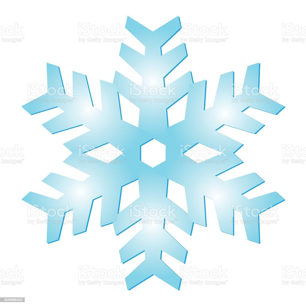 ice crystal snowflake stock vector art more images of advent rh istockphoto com snowflake background vector art free snowflake vector line art