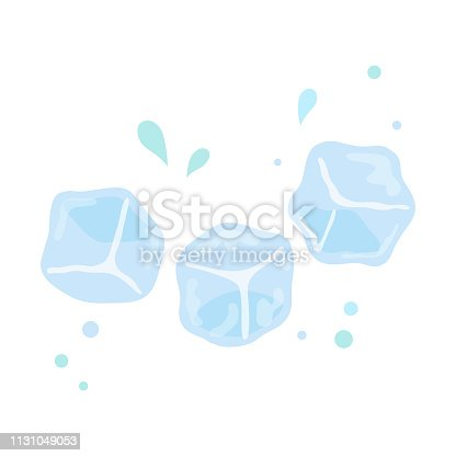 Ice,cubes,water,blue,design,summer,cool,drink,drop,white,background