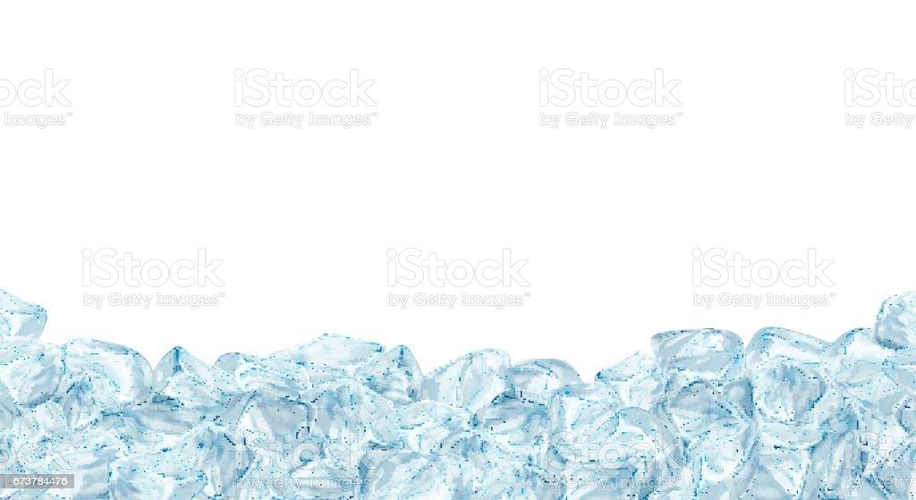 Buz küpleri, gerçekçi kümesi. royalty-free buz küpleri gerçekçi kümesi stok vektör sanatı & arka planlar'nin daha fazla görseli