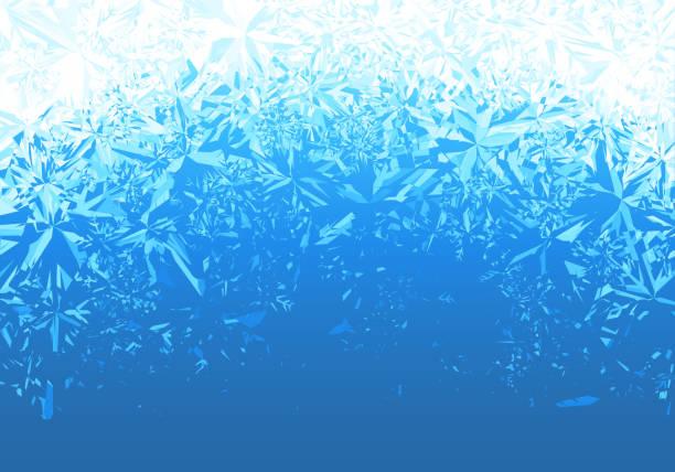 얼음 호랑이 배경 - 서리 stock illustrations