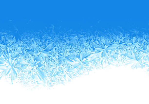 Ice frosted background Ice frosted background. Eps8. RGB. Global colors. One editable gradient is used for easy recolor ice stock illustrations