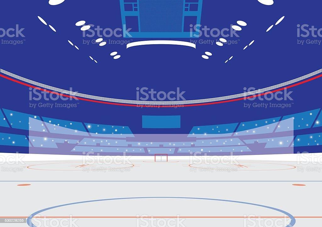 Ice Hockey Arena – Vektorgrafik