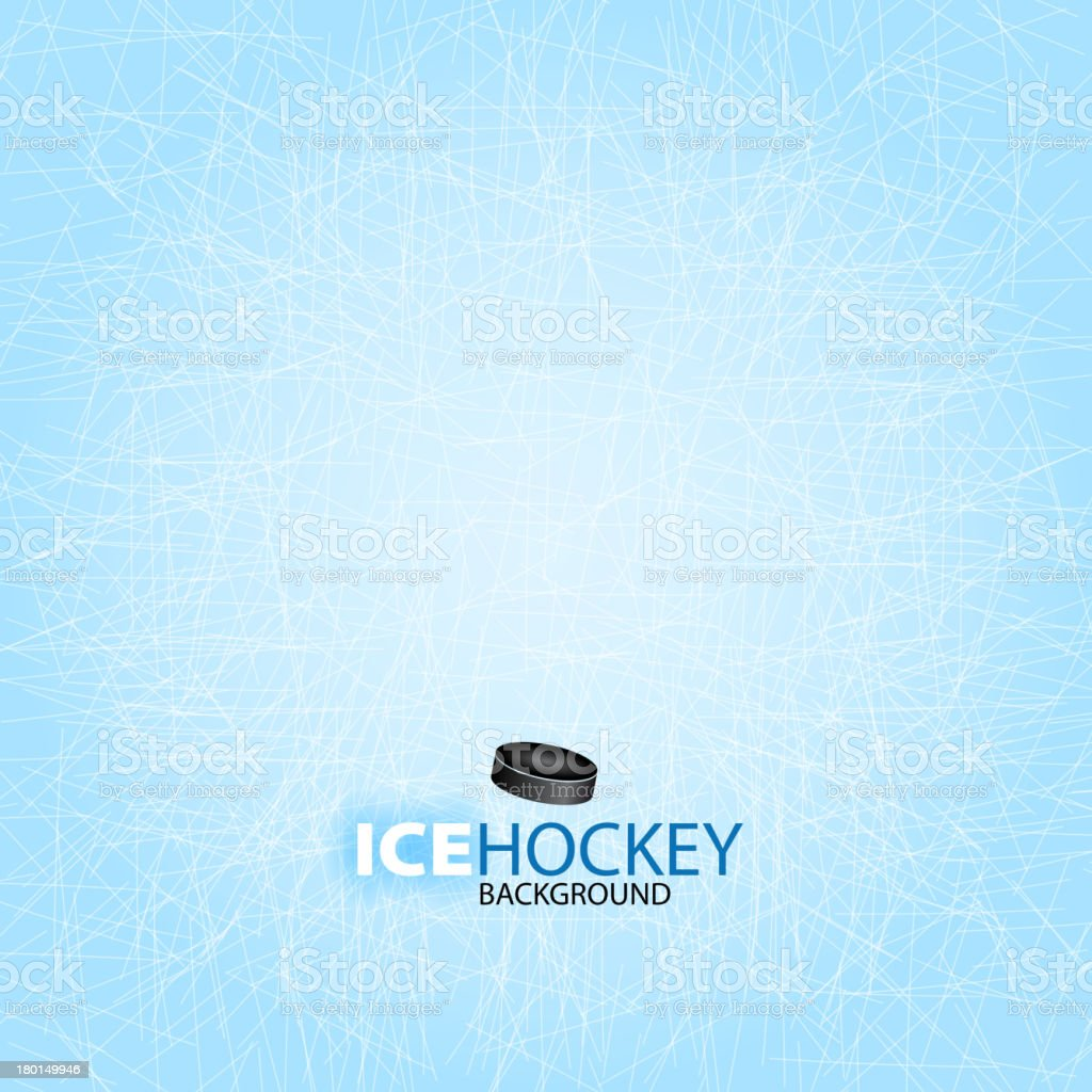 Ice Hockey background design vector art illustration
