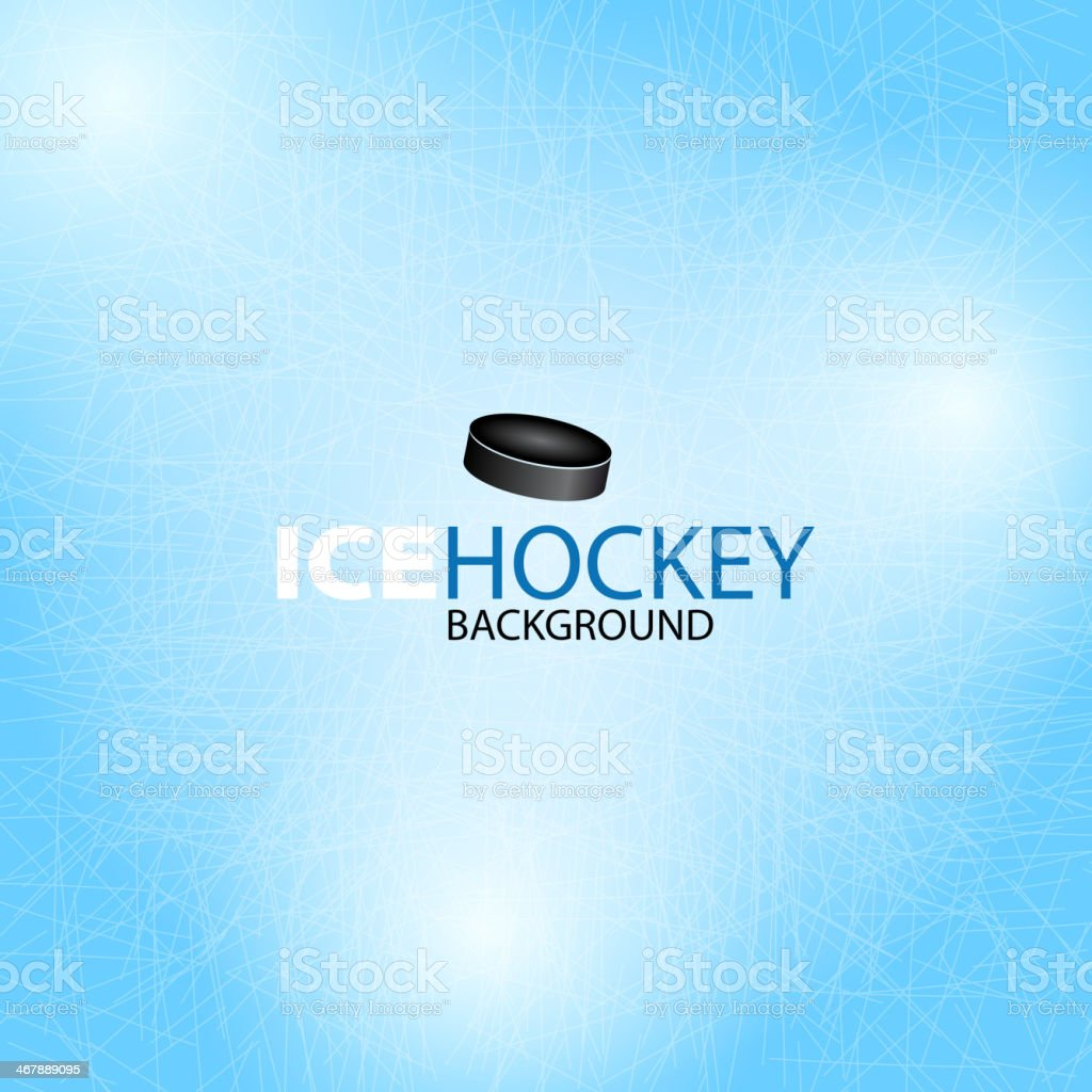 Ice Hockey background - Vector illustration vector art illustration