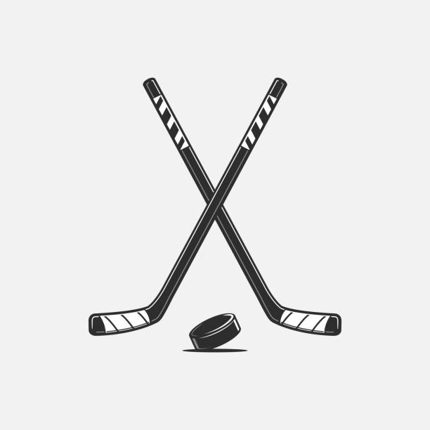 Best Hockey Stick Illustrations Royalty Free Vector Graphics Clip