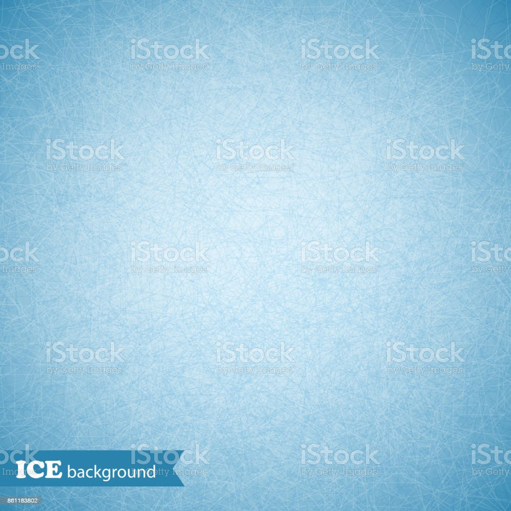 Ice scratched background, texture, pattern. Vector illustration vector art illustration