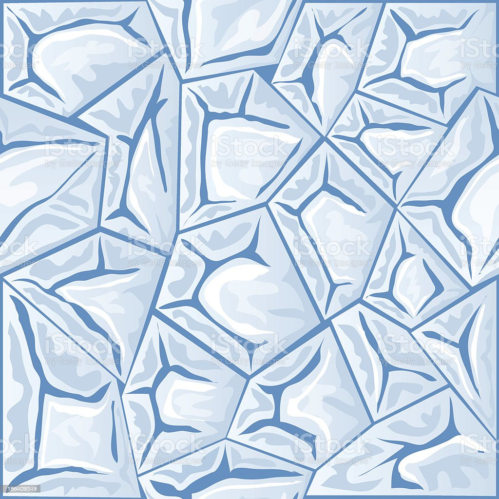 ice seamless pattern royalty-free stock vector art