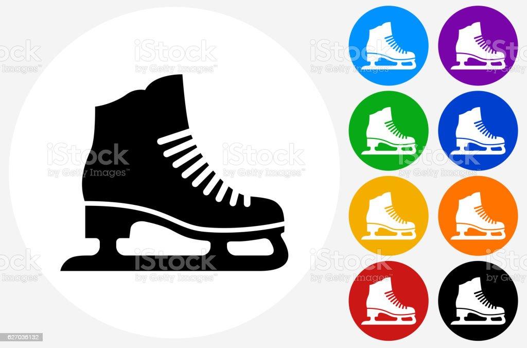 royalty free ice skate clip art vector images illustrations istock rh istockphoto com ice skater clip art ice skate clip art image