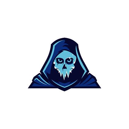ice skull mascot