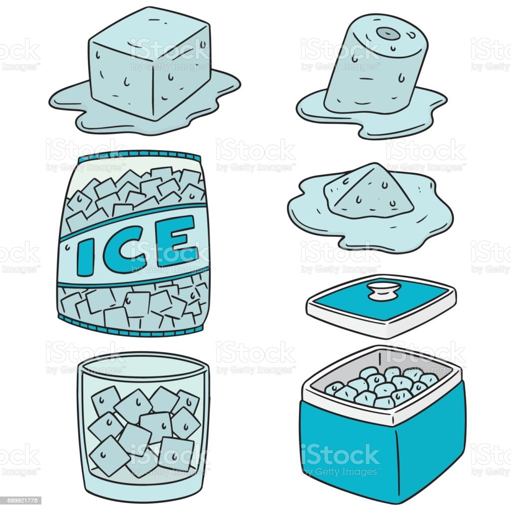 royalty free bags of ice clip art vector images illustrations rh istockphoto com clipart ice cream cone ice clipart png