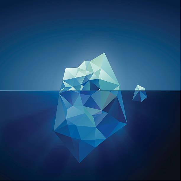 Iceberg illustration vector art illustration