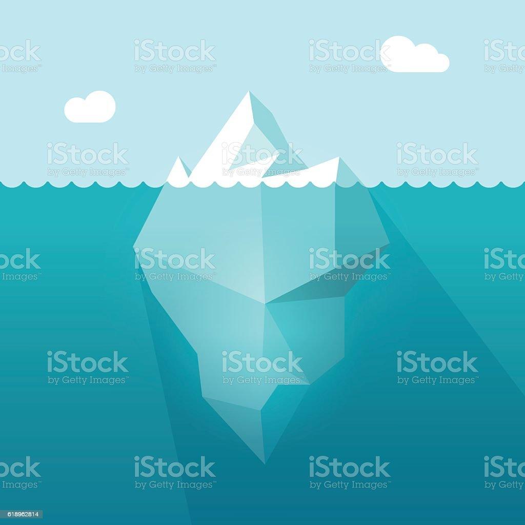 royalty free iceberg clip art vector images illustrations istock rh istockphoto com iceberg clipart free iceberg lettuce clipart