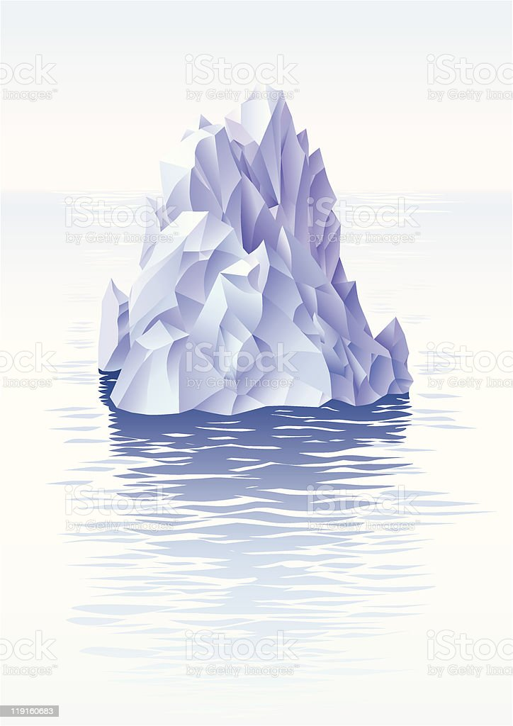 Iceberg royalty-free iceberg stock vector art & more images of antarctica
