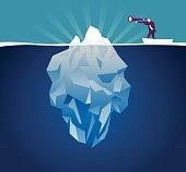 Vector illustration - Iceberg