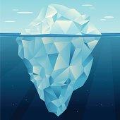 istock Iceberg vector 165902695