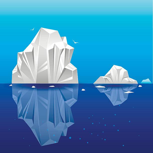 iceberg2 - 南極旅行点のイラスト素材/クリップアート素材/マンガ素材/アイコン素材