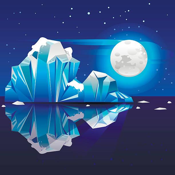 iceberg4 - 南極旅行点のイラスト素材/クリップアート素材/マンガ素材/アイコン素材