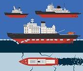 Icebreaker infographics