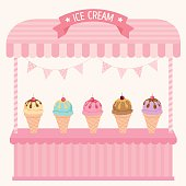 ice-cream cafe