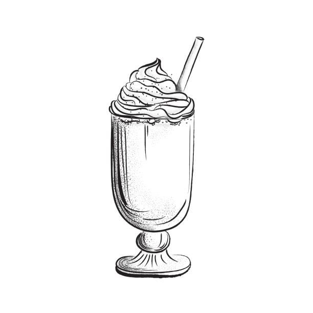 ilustrações de stock, clip art, desenhos animados e ícones de iced latte - café solúvel