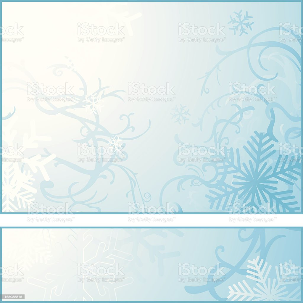 Iceflakes Background royalty-free iceflakes background stock vector art & more images of backgrounds