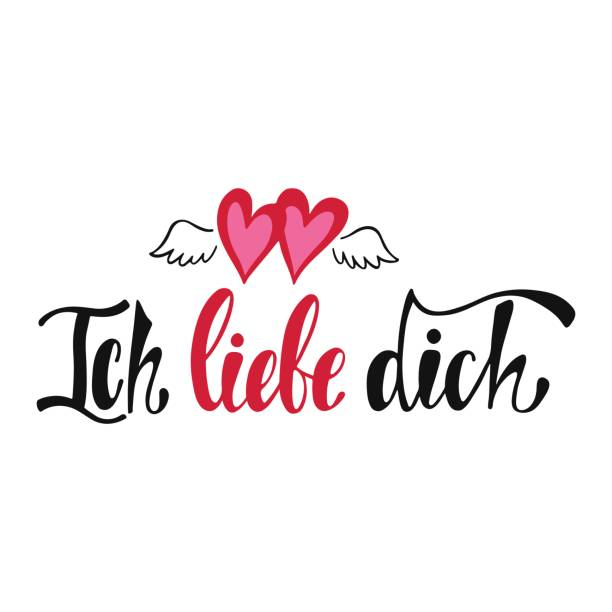 Top 60 Ich Liebe Dich Clip Art, Vector Graphics and