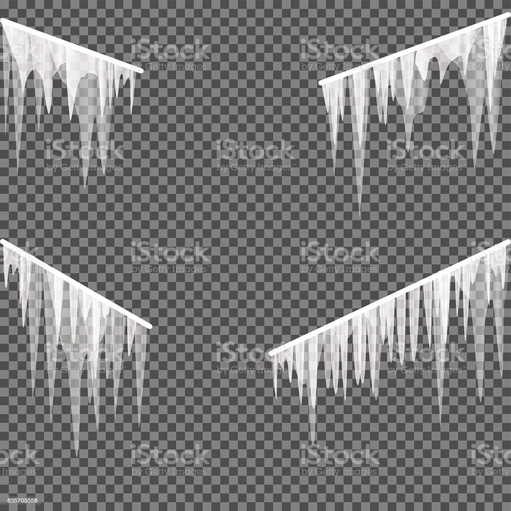 icicles railing transparent background royalty-free icicles railing transparent background stock vector art & more images of abstract