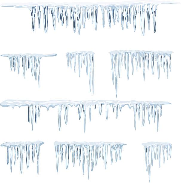 icicles - eiszapfen stock-grafiken, -clipart, -cartoons und -symbole