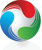 icon abstract business design