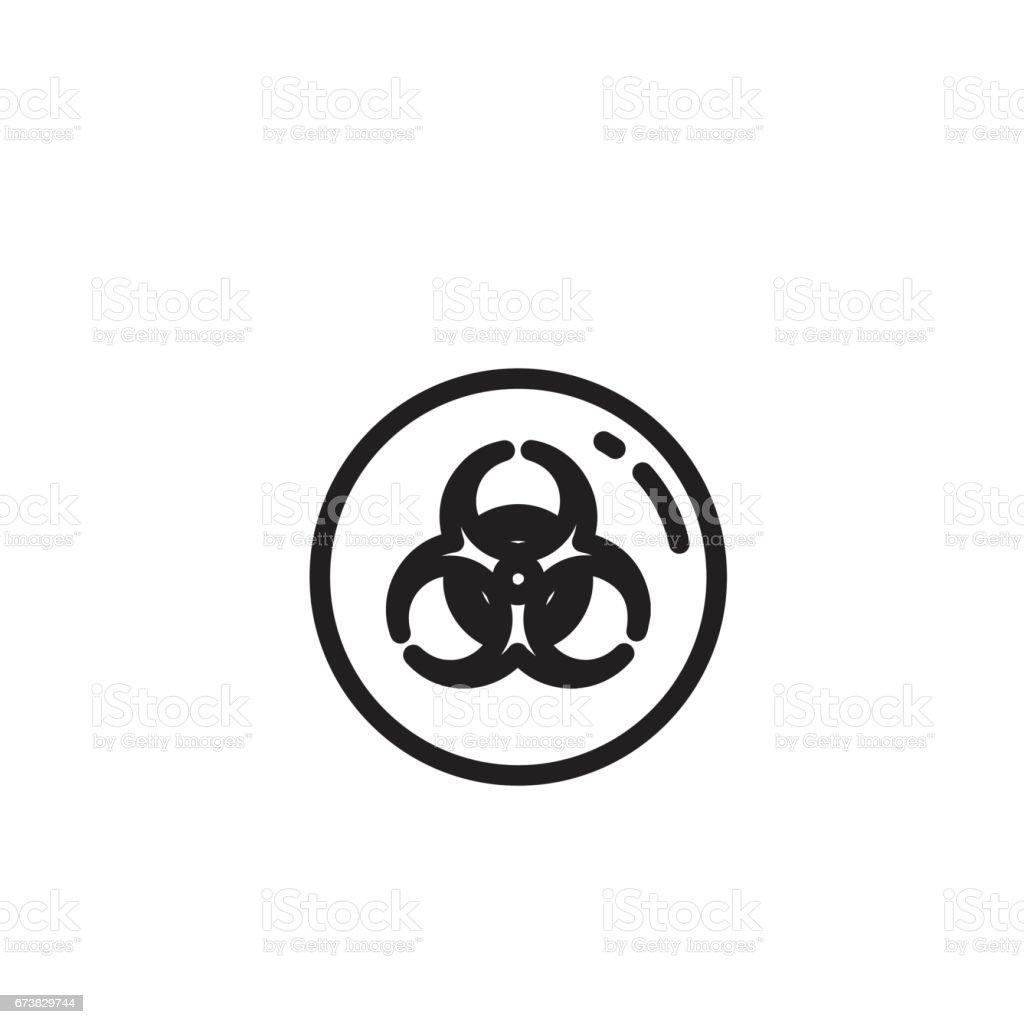 biohazard, kimyasal ve hastane atık simge royalty-free biohazard kimyasal ve hastane atık simge stok vektör sanatı & bakmak'nin daha fazla görseli
