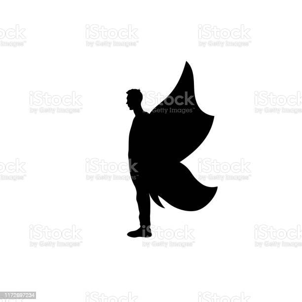 Icon black silhouette of abstract man with butterfly wings vector id1172697234?b=1&k=6&m=1172697234&s=612x612&h=nmbkpg6dxmvlmrn0utjzffdy8gcyqdpctgobyxwanzw=