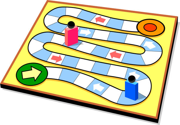 Board Game Clip Art, Vector Images & Illustrations - iStock