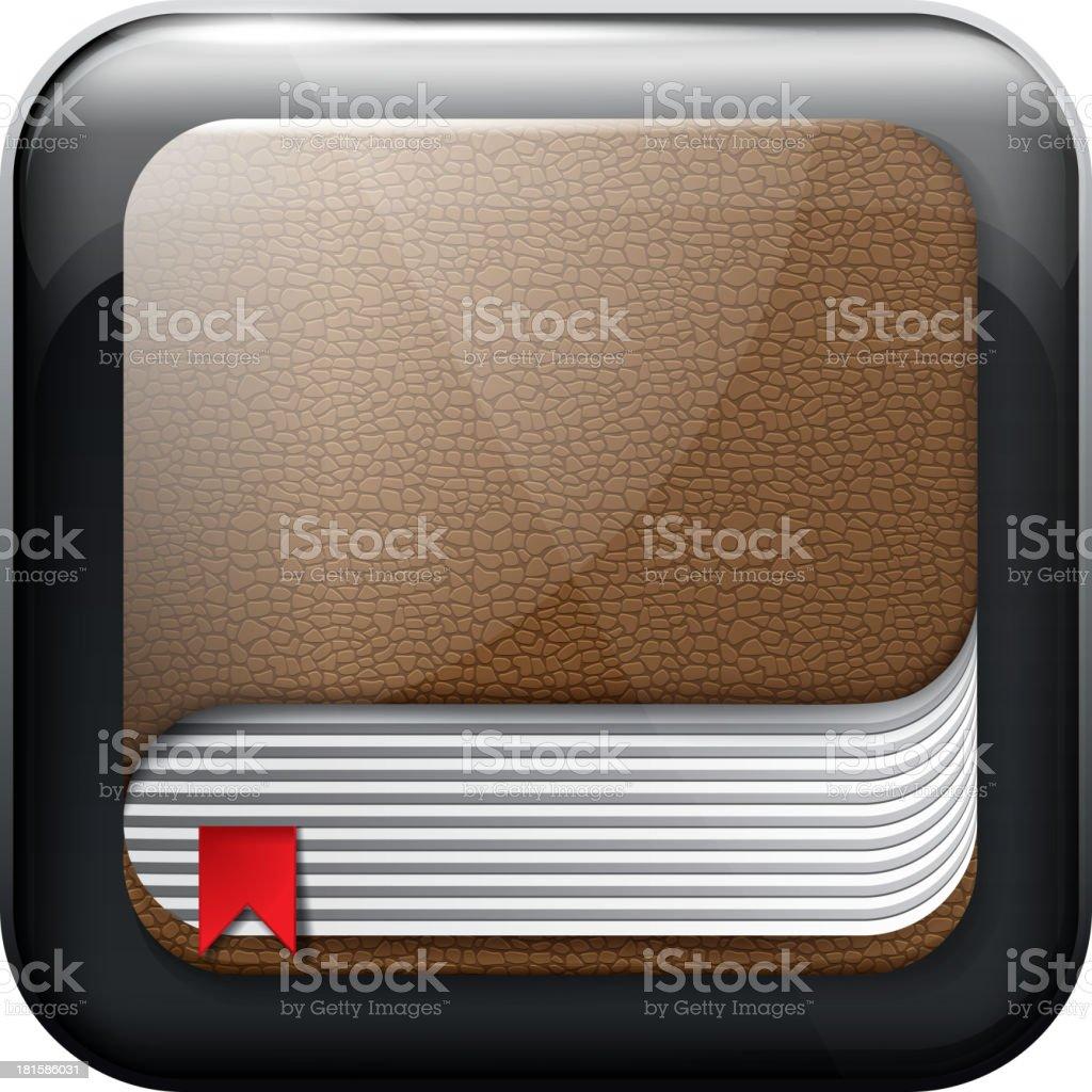 Icon Book royalty-free stock vector art