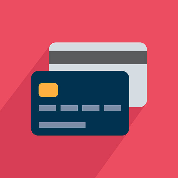 icon card - credit card stock illustrations