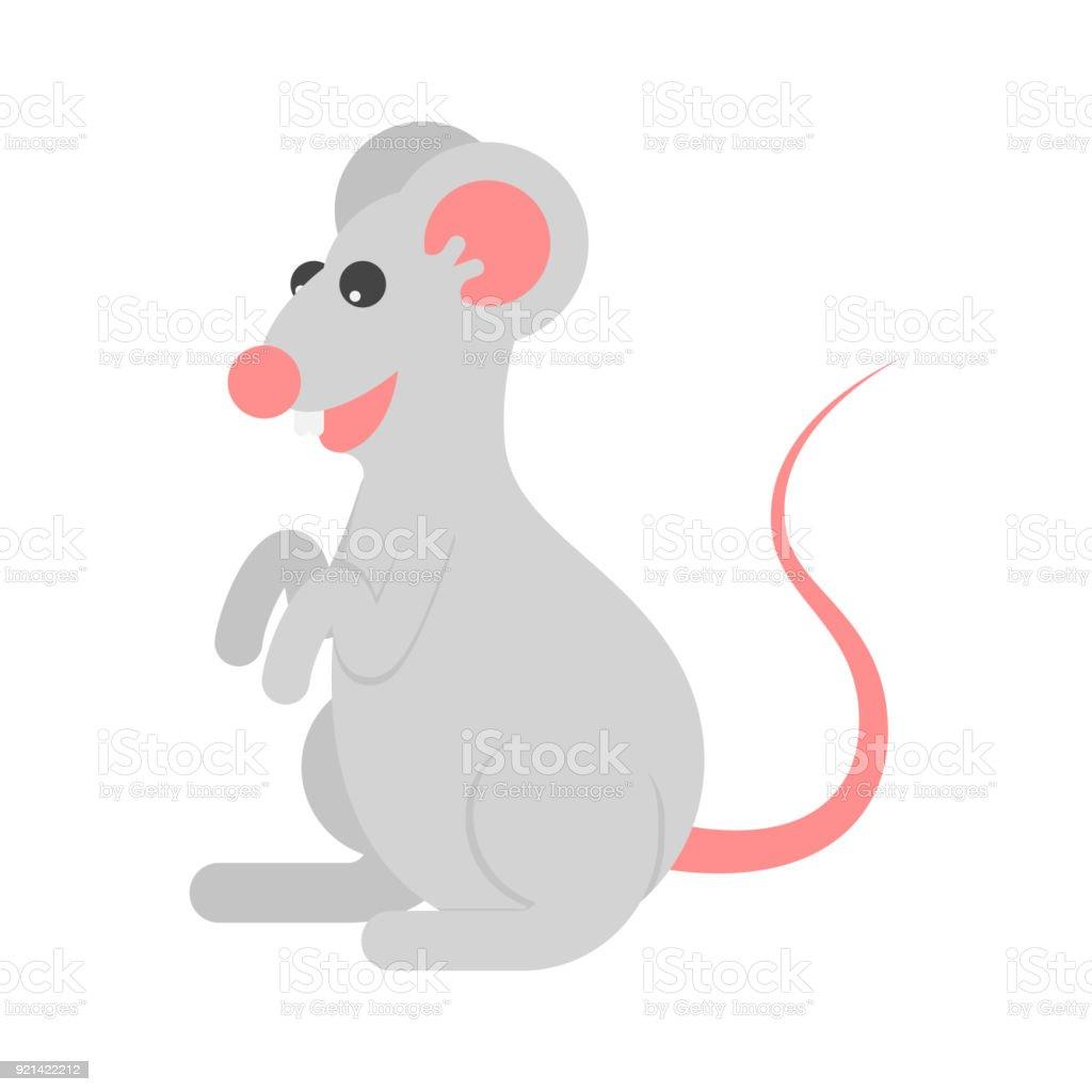 Ilustración de Dibujos Animados De Ratón De Personaje Icono y más ...