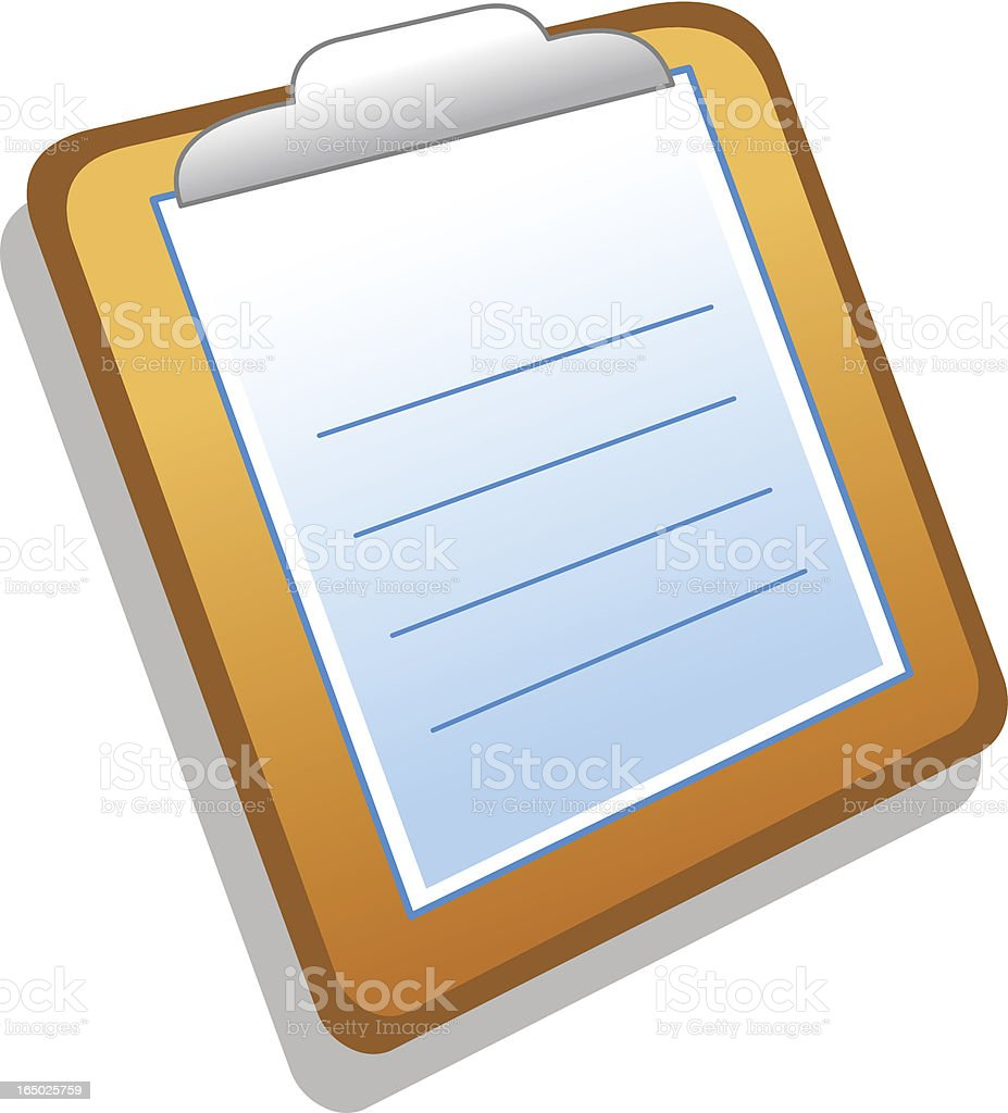 Icon / Clipboard royalty-free icon clipboard stock vector art & more images of advice
