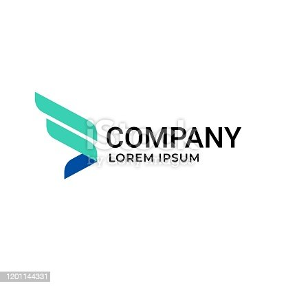 istock Icon Design Element logo for Technology Innovation company, Tech icon and symbol 1201144331