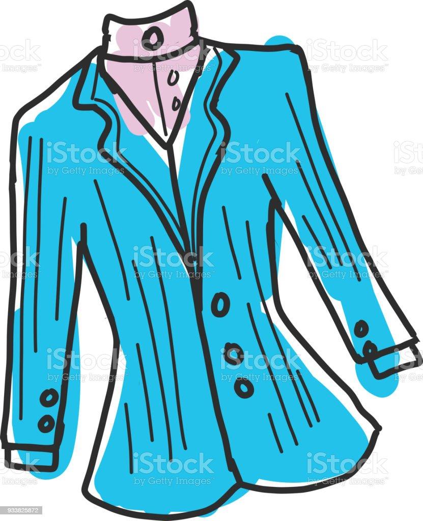 Une veste cintree
