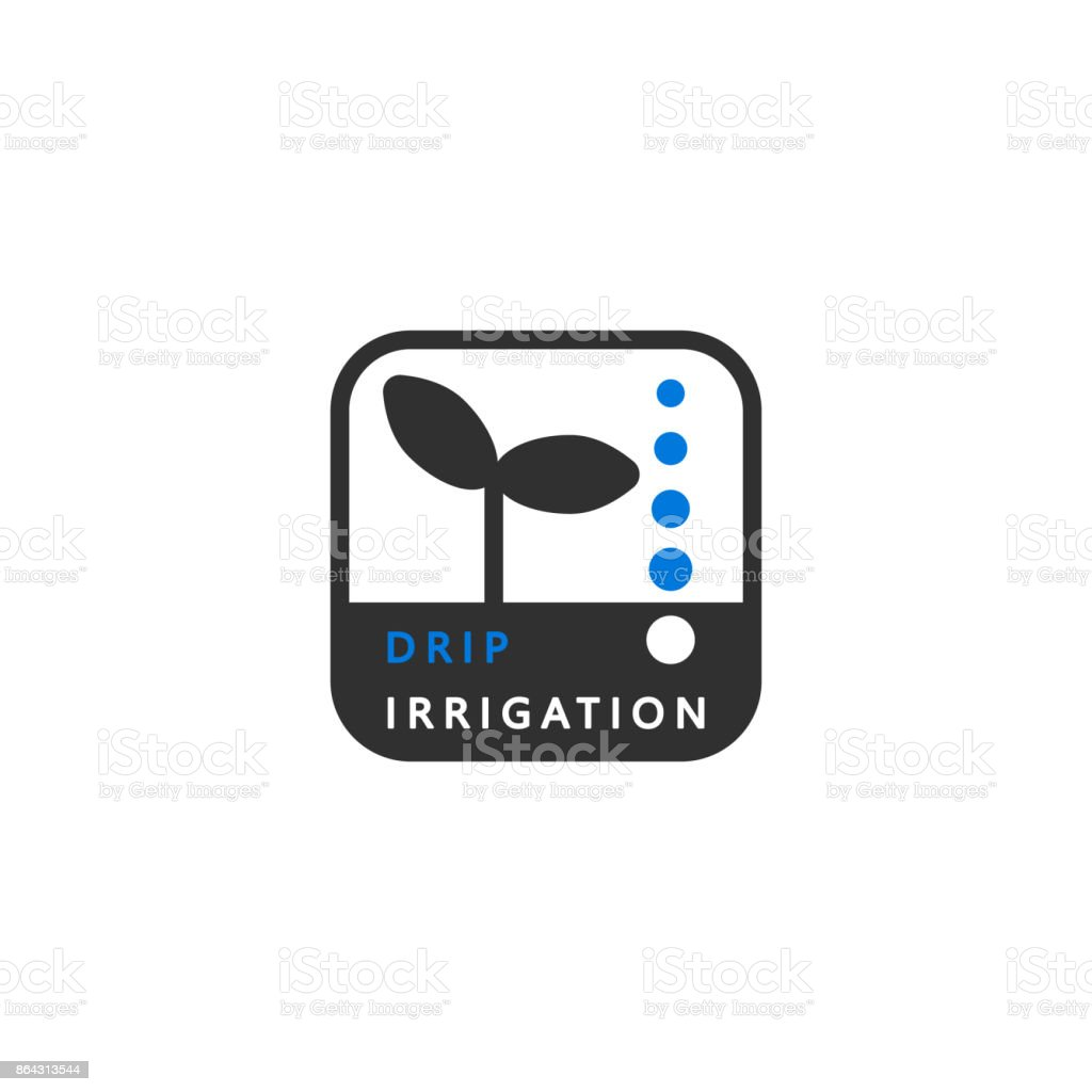Icon drip irrigation a simple clean symbol vector for all types of a simple clean symbol vector for all types of irrigation biocorpaavc Gallery