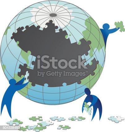 istock Icon e Simbolo teamwork 504338483