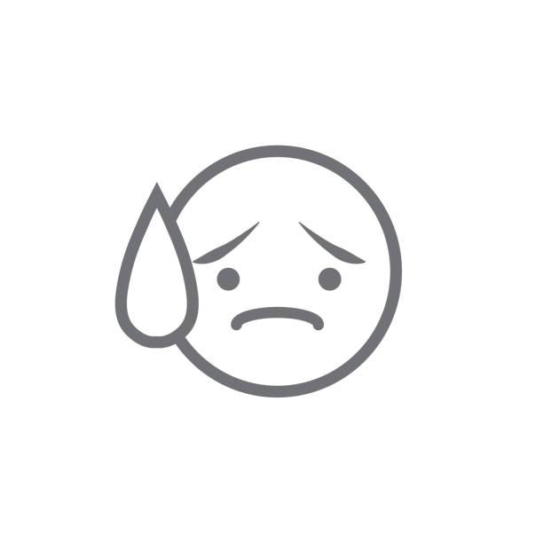 stockillustraties, clipart, cartoons en iconen met fomo icon - angst voor het missen van trendy modern acroniem - sociale media - paranoïde